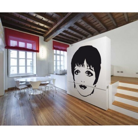 pegatina decorativa Liza Minelli