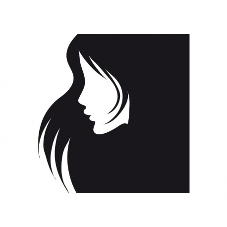 vinilos imagen producto Perfil Mujer II