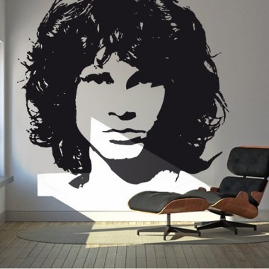 pegatina decorativa Jim Morrison