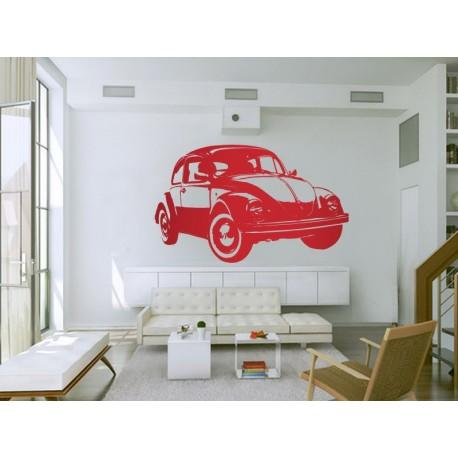 Escarabajo Coche I adhesivo decorativo ambiente