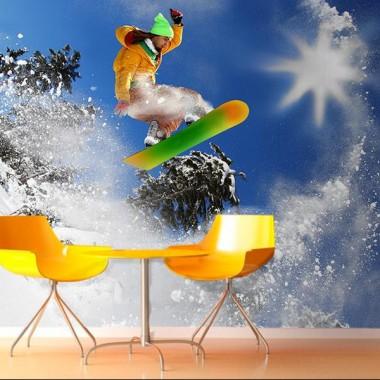 Fotomural Snow decoración con vinilo