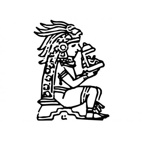 Mayas Motivo I adhesivo decorativo ambiente