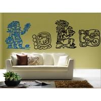 Mayas Motivo II decoración con vinilo