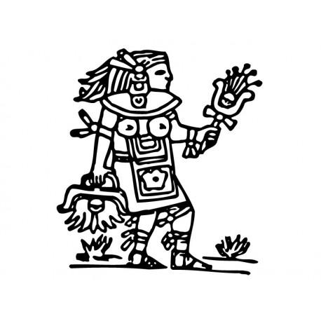 Mayas Motivo II producto vinilos