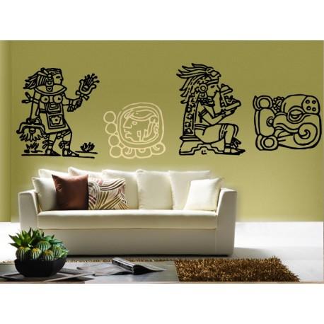 vinilo decorativo Mayas Motivo III