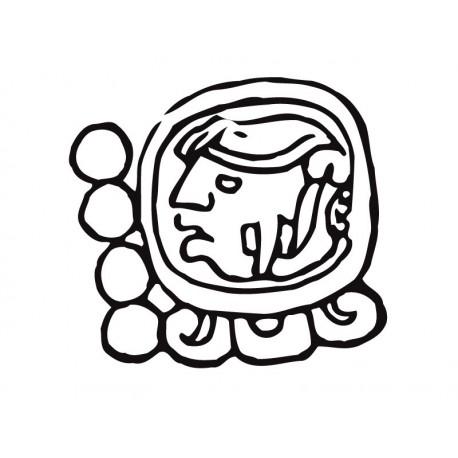 pegatina decorativa Mayas Motivo III