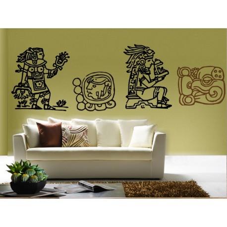 vinilos imagen producto Mayas Motivo IV