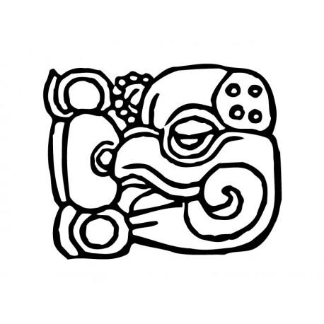 adhesivo decorativo Mayas Motivo IV