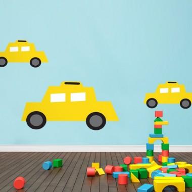 Infantil Coches Ciudad Taxi producto vinilos