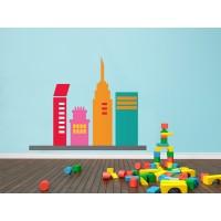 Infantil Coches Ciudad Edificios I