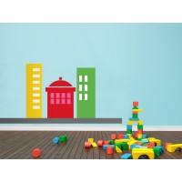 Infantil Coches Ciudad Edificios II