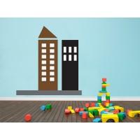 Infantil Coches Ciudad Edificios IV