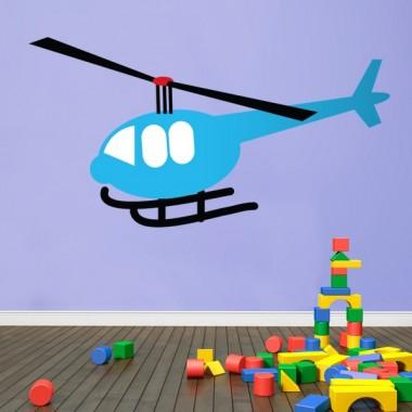 Infantil Coches Ciudad Helicoptero producto vinilos