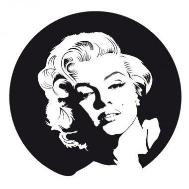 pegatina pared Marilyn Monroe Motivo II
