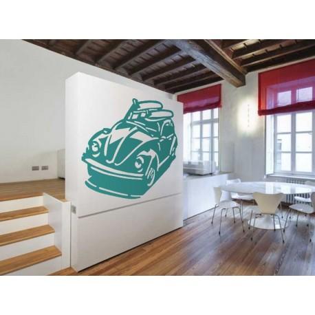 pegatina decorativa Escarabajo Coche II