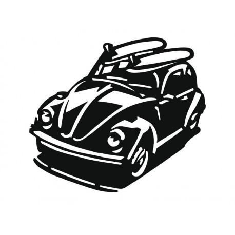 vinilos imagen producto Escarabajo Coche II