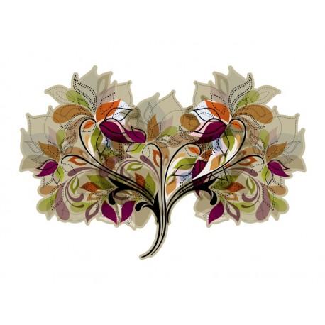 cabecero en vinilo Vinilo Cabecero Floral II