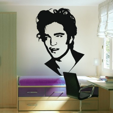 Robert Pattinson adhesivo decorativo ambiente