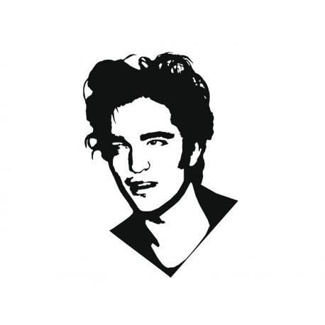 Robert Pattinson decoración con vinilo
