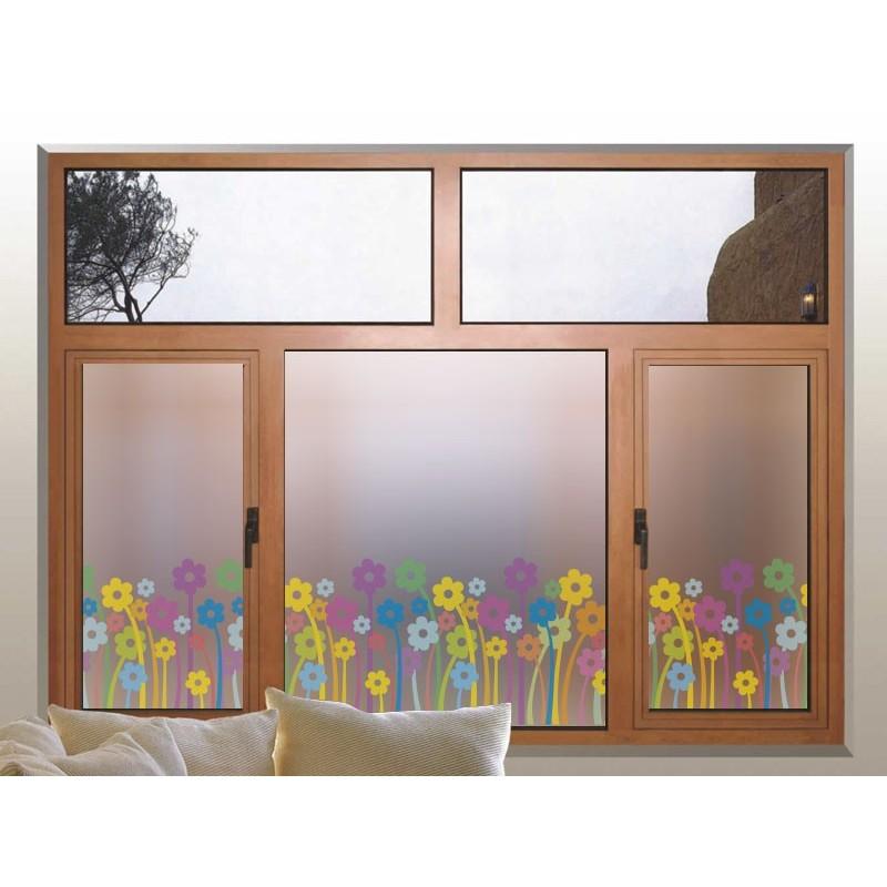 Vinilo translucido impreso florecillas - Vinilos cristales ventanas ...