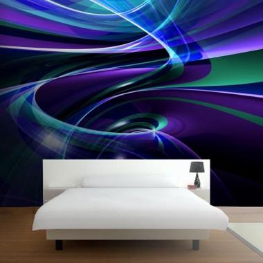 Fotomural Organic Fractal adhesivo decorativo ambiente