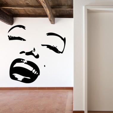 Marilyn Monroe Motivo III decoración con vinilo