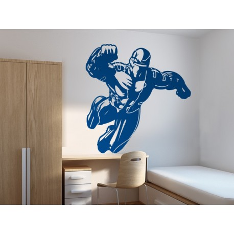 Superheroe Ice Metal Motivo imagen vista previa