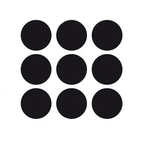Círculos Iguales imagen vinilo decorativo