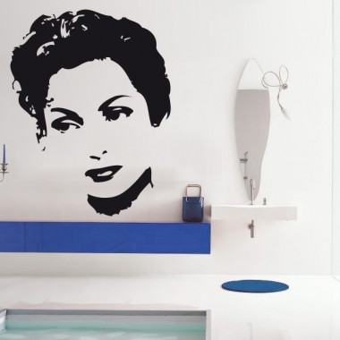 Carmen Sevilla  adhesivo decorativo ambiente