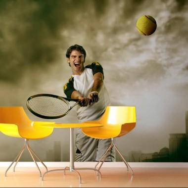 adhesivo decorativo Fotomural Tenis