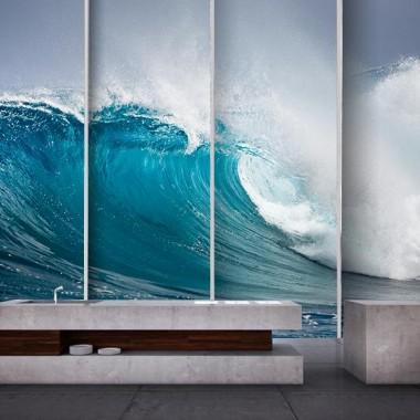 Fotomural Olas Gigantes adhesivo decorativo ambiente