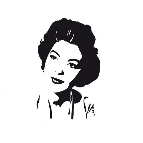 adhesivo decorativo Ava Gardner