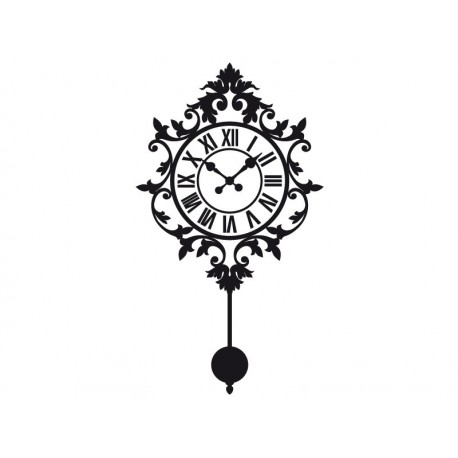 vinilo decorativo Reloj de Pared I