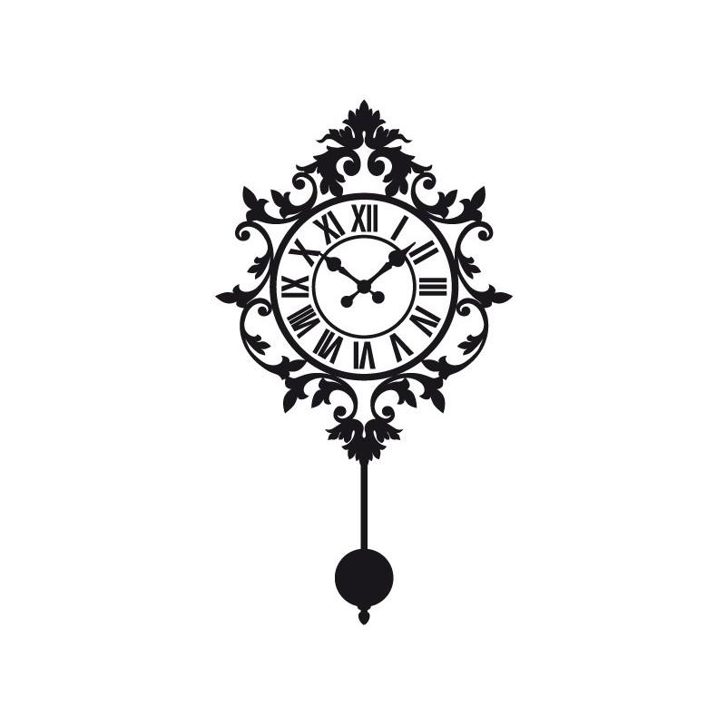 Vinilo reloj de pared i - Relojes decorativos pared ...