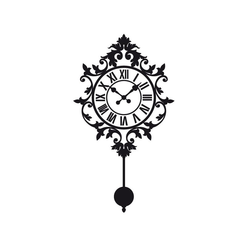 Vinilo reloj de pared i - Reloj vinilo pared ...