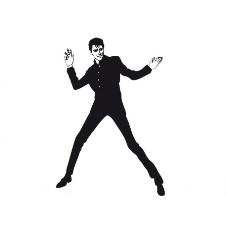 adhesivo decorativo Elvis Presley I