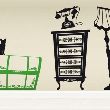 Baúl Animado imagen vinilo decorativo