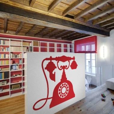 adhesivo decorativo Teléfono Antiguo