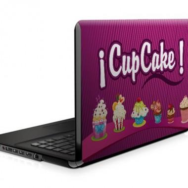 Cup Cake para Portatil producto vinilos