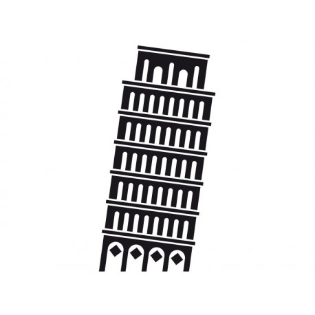 Torre de Pisa Motivo producto vinilos