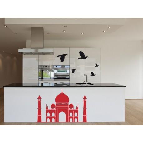 pegatina decorativa Taj Mahal Motivo