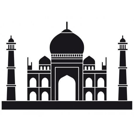 vinilos imagen producto Taj Mahal Motivo