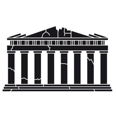 Ruinas Romanas Motivo decoración con vinilo
