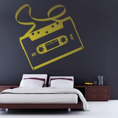 adhesivo decorativo Cassette para Cabecero