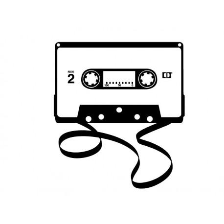 pegatina pared Cassette para Cabecero