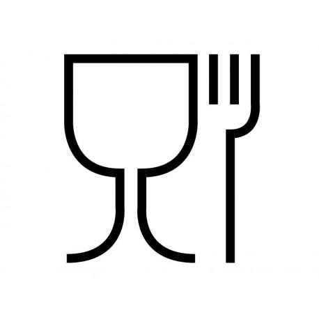 Símbolo Comedor II decoración con vinilo