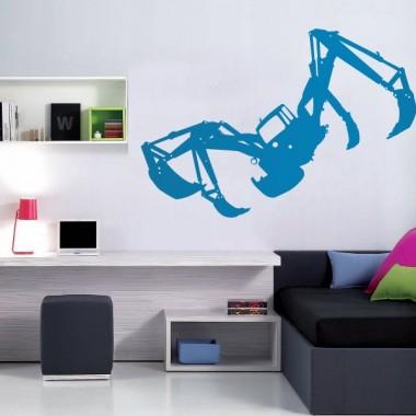 Grúa Araña imagen vinilo decorativo