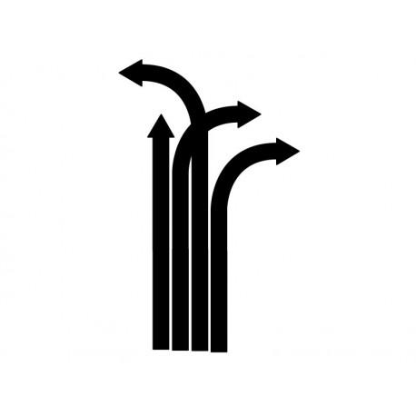 Flechas Desviadas producto vinilos