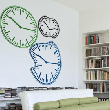 adhesivo decorativo Reloj Ondulante I
