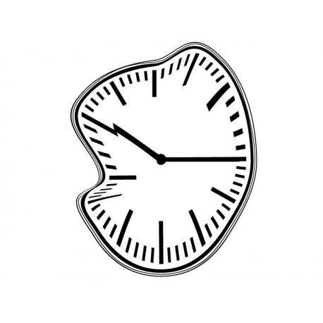 Reloj Ondulante II adhesivo decorativo ambiente